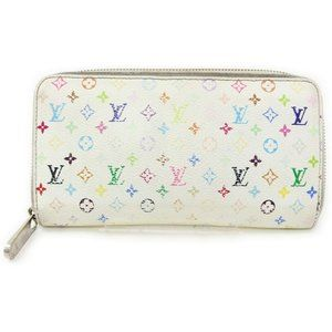 Louis Vuitton Zippy Multicolore Mono Wallet 11556